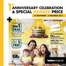 Living Mall 1st Anniversary Sale
