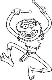 famous animal muppets coloring pages famous animal