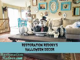 spooky halloween coffee table decor restoration redoux spooky halloween coffee table decor