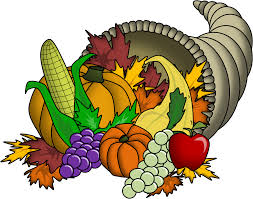 cornucopia thanksgiving clipart clipartxtras