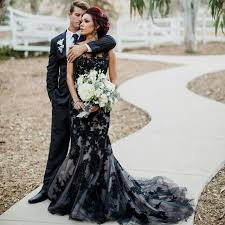 black wedding dress black lace wedding dress wedding dresses wedding ideas and