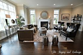 living room staging ideas staging luxury new construction beforeafter photos living room after