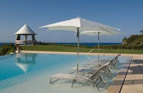 In Pool Chaise Lounge Patio Umbrella Stand Pool Contemporary With Chaise Longue Chaise