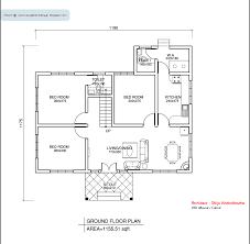 single floor plans style single floor house plan sq ft kerala home design gif