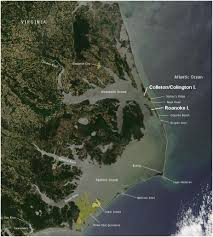 Map Of Outer Banks The Outer Banks Of North Carolina