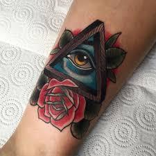 beautiful triangle eye traditional tradis