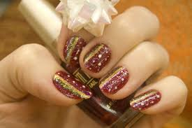cute holiday nail art designs 2015 for women