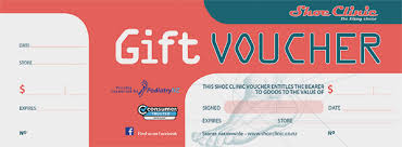 gift voucher samples gift vouchers shoe clinic buy sports shoes online nz