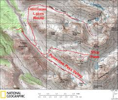 Willow Alaska Map by Performance Backcountry Skiing 101