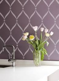 catchy collections of stencil design for wall fabulous homes