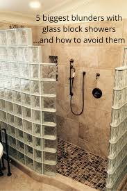 how to avoid the 5 biggest blunders with glass block showers bath