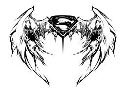 super woman angel wings tattoo photos pictures and sketches