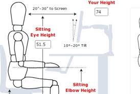 Ergonomic Standing Desk Height Standing Desk Stand Up Desk Adjustable Height Desk Pertaining To
