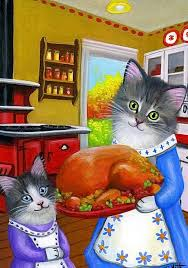 30 best purrfect gratitude vintage style thanksgiving with cats
