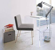 Lucite Office Desk Peekaboo Clear Console In Office Furniture Cb2 Floor Tiles And