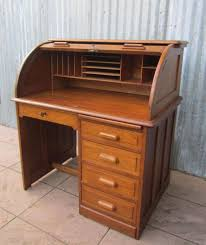 Queen Anne Secretary Desk by Antique Oak Writing Desk Antique Furniture