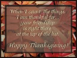 friendship thanksgiving quotes thanksgiving blessings