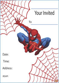 17 Best Images About Spider - printable spider man birthday invitation orderecigsjuice info