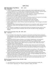 manufacturing job resume automotive manufacturing manager resume project manager resume
