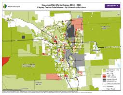 Calgary Canada Map by Wealthscapes 2015 Reveals Canadians U0027 Financial Strength