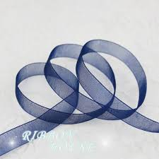 ribbons wholesale 50 yards roll 1 2 12mm blue organza ribbons wholesale gift