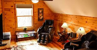 romantic hocking hills cabins for two in ohio