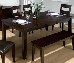 round pedestal dining table butterfly leaf set with bench