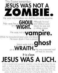 Zombie Jesus Meme - for those joking happy zombie jesus day i feel the need to