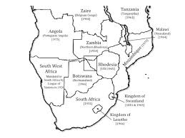 map of africa with country names maps mystory publishing