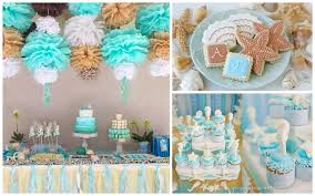 amazing beach party table decorations designs and colors modern