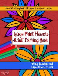 large print coloring book 2 big beautiful u0026 simple
