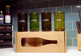 best housewarming gift passion drinkware and home decor made from recycled wine bottles