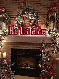 Christmas Decoration Ideas Crafts Best 25 Christmas Fireplace Ideas On Pinterest Christmas Mantle