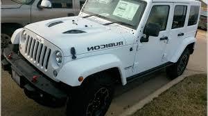 white 4 door jeep wrangler white jeep wrangler rubicon 4 door rock