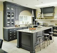 Dark Grey Kitchen Cabinets by Dark Grey Cabinets Prepossessing 1000 Images About Kitchens Wdark