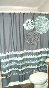 Aqua And Grey Curtains Teal And Gray Curtains White Teal Grey Eyelet Curtains 8libre