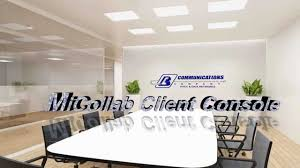phone call control software micollab client console demo youtube