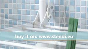 accordion drying rack wall mount free alton expandable clothes awesome stend sfera the wall mount drying rack made in italy youtube with accordion drying rack wall mount