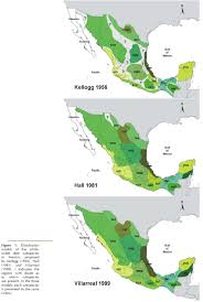 Queretaro Mexico Map by Comparison Of Geographic Distribution Models Of White Tailed Deer