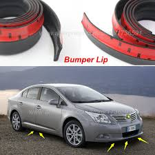 Toyota Asis Auto Car Front Lip Deflector Skirt For Toyota Avensis