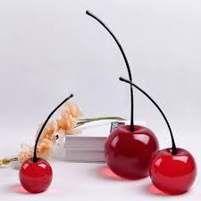 fashion resin ornaments cherry wine cabinet modern minimalist