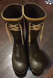 s dress boots size 11 mens lacrosse outdoorsman green rubber boots lace up size 11