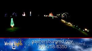 winter lights festival gaithersburg 2016 gaithersburg winter lights drive thru youtube