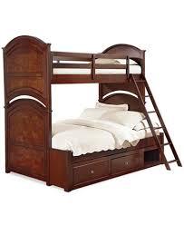 Irvine Kids Twin Over Full Bunk Bed Furniture Macys - Full bunk bed