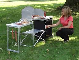 amazon com gigatent pack n go prep station camping tables