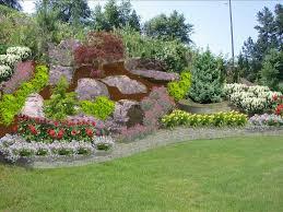 Landscape Ideas For Hillside Backyard by Landscaping Ideas For Backyard With Slope Backyard Decorations