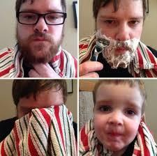 Beard Shaving Meme - hilarious before and after shaving looks for movember