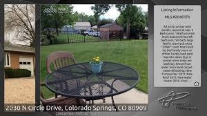 Bedroom Furniture Colorado Springs by 2030 N Circle Drive Colorado Springs Co 80909 Youtube