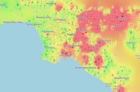 california map laguna california map shows spots of homeless students edsource