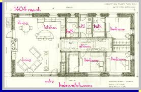1500 Sq Ft Ranch House Plans Stunning 2000 Square Foot Ranch Floor Plans Gallery Flooring